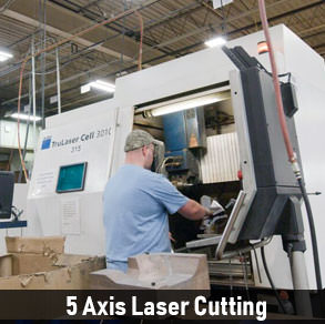 5 Axis Laser Cutting